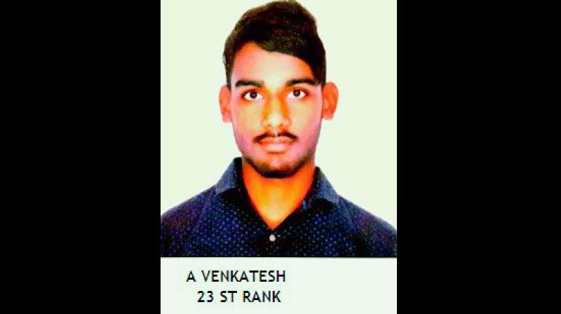 A. Venkatesh, Rank 23