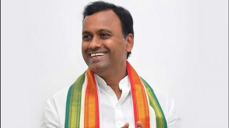 Already reeling from the defection of 12 legislators to the TRS, the Congress received another jolt on Saturday when one of its legislators, Komatireddy Raj Gopal Reddy, criticised the party's leadership. (Photo: Facebook/ komatireddy. rajgopalreddy)