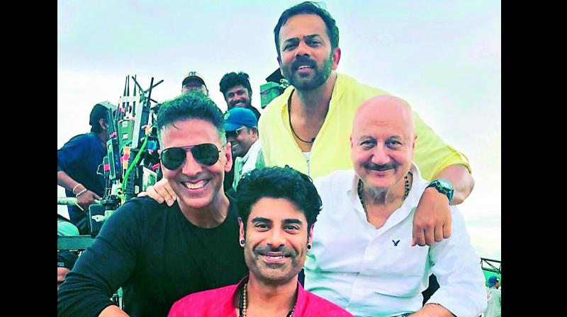 "Anupam Kher wrote, ""Dearest @sikandarkher!! It was wonderful to see you working with two of my most favourite 'self-made' people from our film industry."