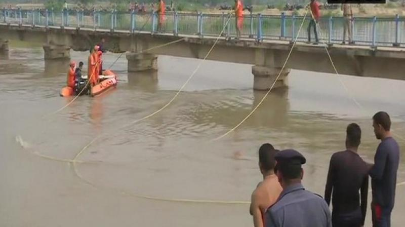 The rescue operation is currently underway. (Photo: ANI)