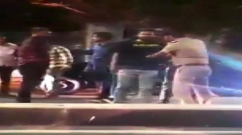 The incident took place on June 14, however, the incident came to light recently when a video of the same went viral on social media. (Photo: ANI)