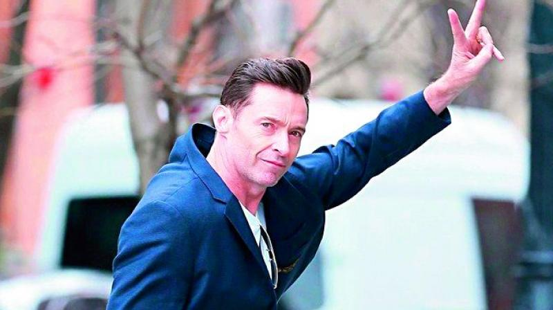 Jackman is currently busy travelling around the USA for his live performance tour The Man.