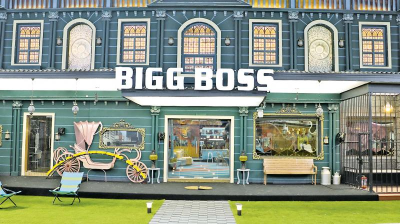 Some acts such as the blindfold escort to the palatial Bigg Boss 3 house continue. But everything else inside the house is transformed.