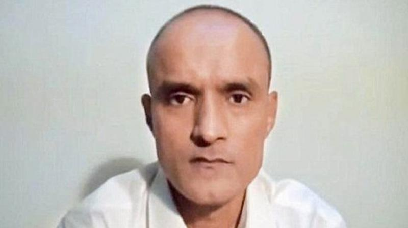 Kulbhushan Jadhav Photo: AP)