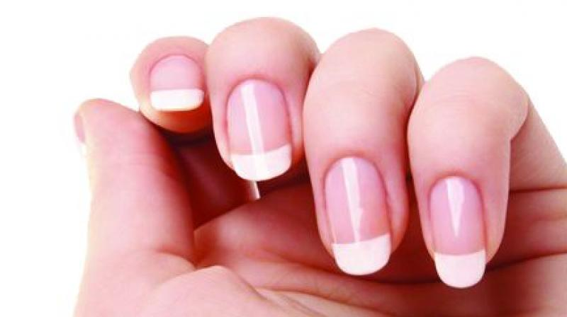 Your nails show how healthy you are