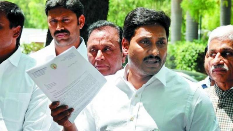 Expectations of relief from pollution is rising as YSR Congress Party Chief YS Jagan Mohan Reddy's 'Praja Sankalp Yatra' enters Yerraguntla on Thursday.
