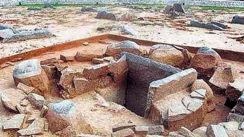State archaeological authorities will carry out excavations at four Polavaram project-hit villages including Jonnalagudem, Chinamettapalli, Rudramakota and Rayanipeta of Godavari districts from November 13.