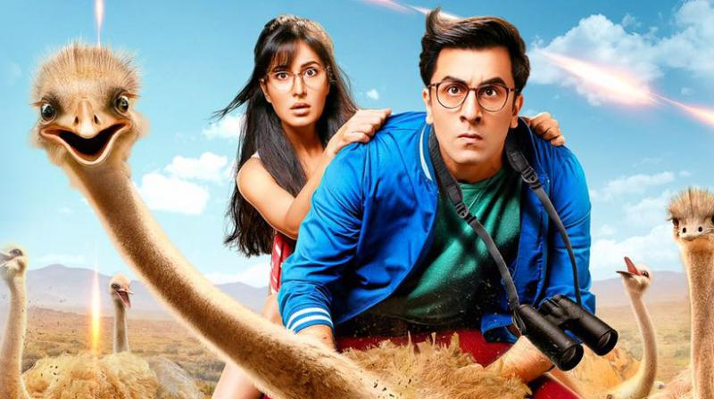 A still from 'Jagga Jasoos'.