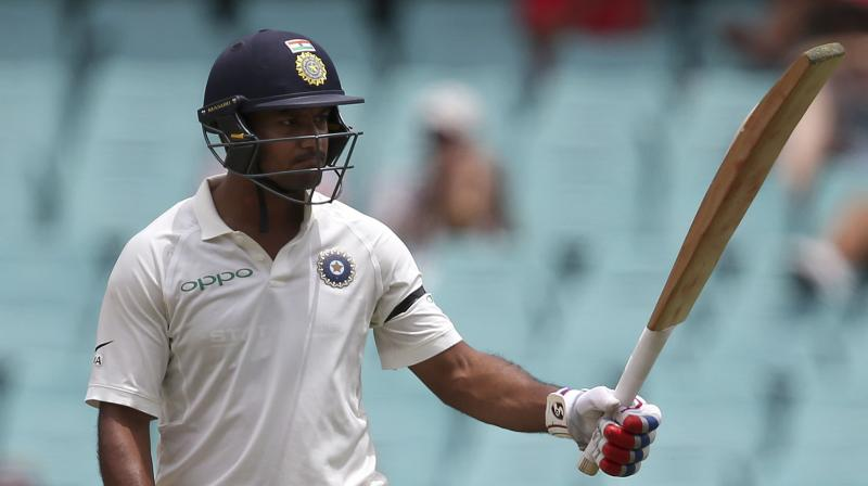Mayank Agarwal was not even part of India's original squad for the tour of Australia but a series of coincidences led to his Test debut and he instantly impressed. (Photo: AP)