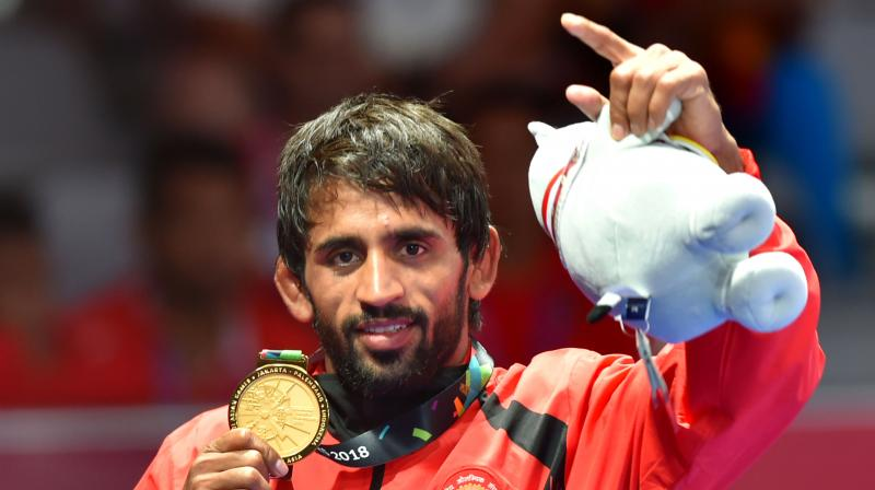 With this performance, Bajrang yet again sounded a warning to his opponents that he will be a strong medal contender at the 2020 Tokyo Olympics. (Photo: PTI / File)