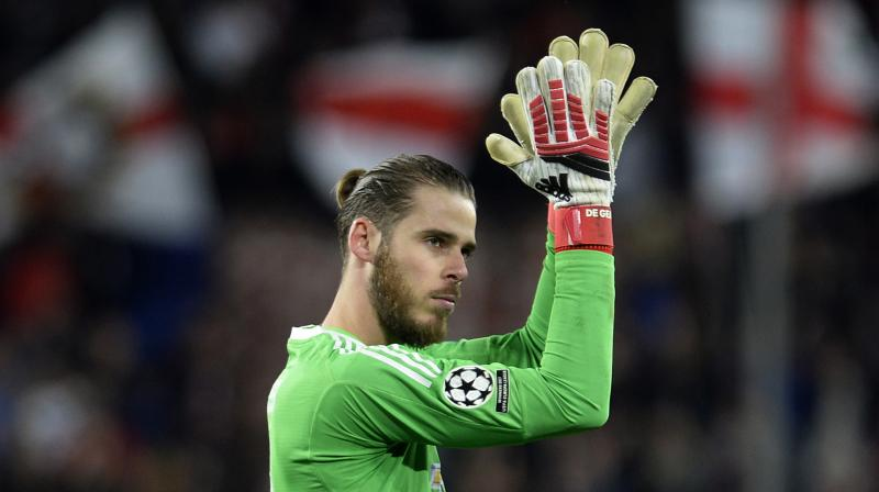 David De Gea made two breathtaking saves to deny Steven N'Zonzi and Luis Muriel at the end of the first half at the Ramon Sanchez Pizjuan, denying Sevilla a lead to take to England for next month's return. (Photo: AFP)