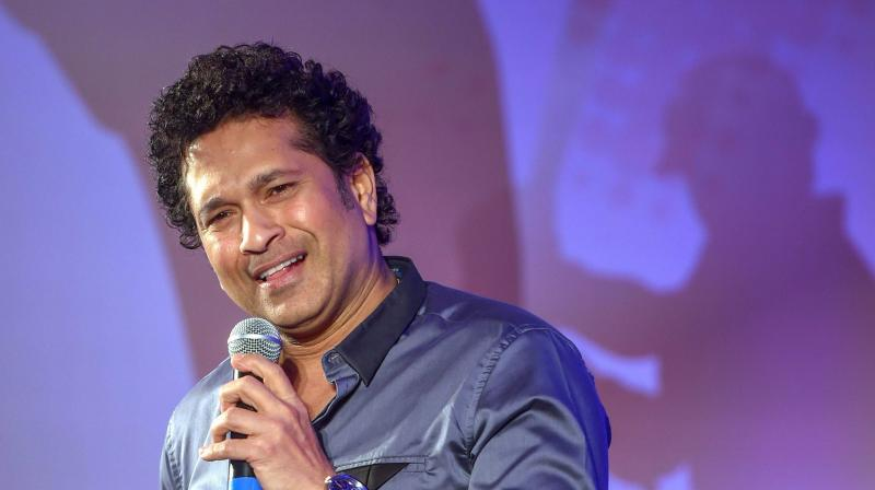 Sachin Tendulkar also recalled the fact that there were many cricketers from Mumbai who could not make it to the national level as there were no spot available. (Photo: PTI)