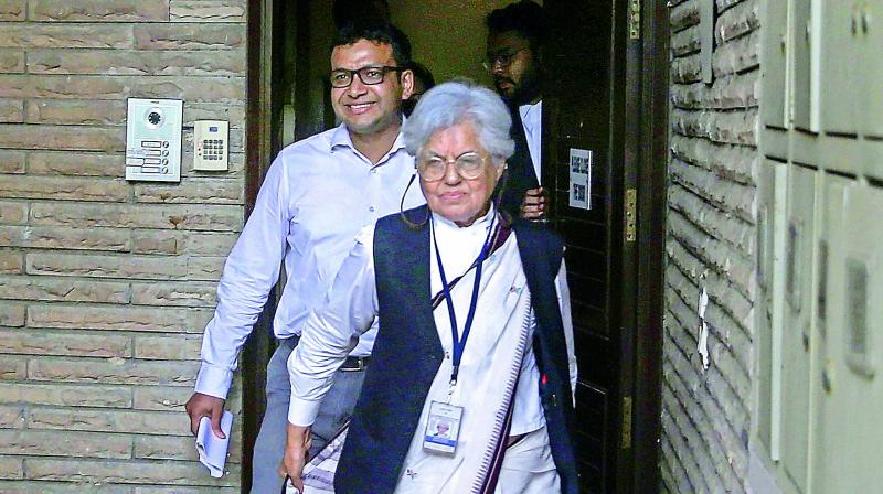 Indira Jaising had challenged the clean chit given to CJI Gogoi in the sexual harassment case. She had fought the travel ban on Greenpeace activists. Her husband Anand Grover had supported Teesta Setalvad, who has taken up many cases on the Gujarat riots, opposed Yakub Menon hanging.