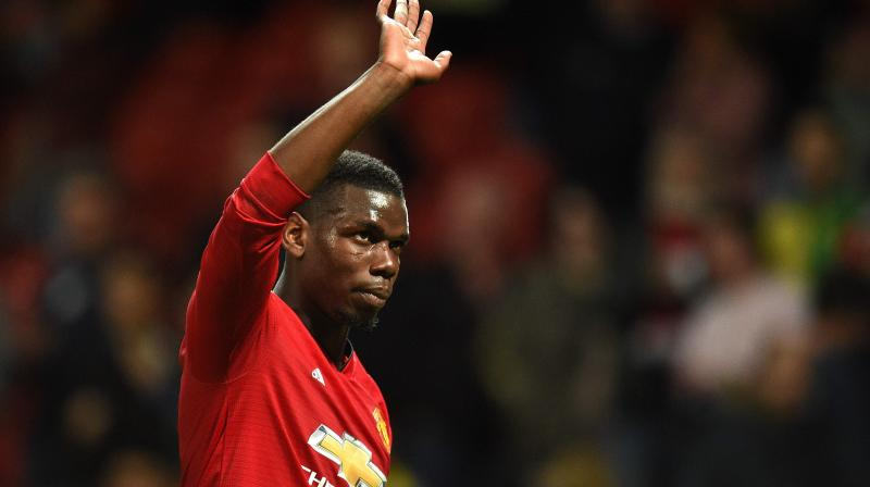 He proved a popular target when United started poorly last season under Jose Mourinho. Critics contrasted Pogba's outstanding World Cup performances with those for his club. (Photo: AFP)
