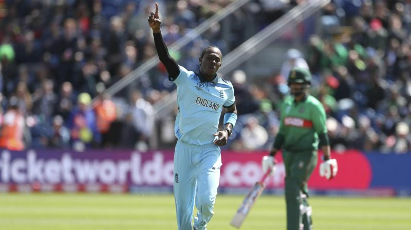 Jofra Archer once played for West Indies under-19s so there is likely to be some extra edge when he runs in against them at Southampton's Rose Bowl on Friday. (Photo: AP)