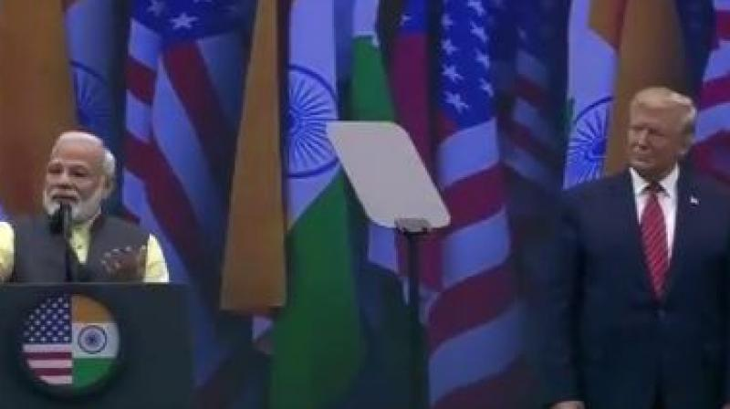 PM Narendra Modi: We in India connected well with President Trump and with the words of candidate Trump, 'Ab ki baar Trump sarkar', rang loud and clear. (Photo: ANI)