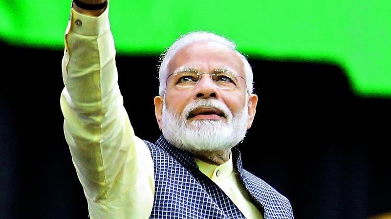 """""""Whether it is devotion to Ram or Rahim, now is time for everybody to strengthen devotion to India,"""" the prime minister said in a series of tweets in reaction to the verdict. (Photo: File)"""