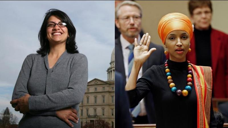 Rashida Tlaib and Ilhan Omar are first Muslim women elected to the US Congress (Photo: AP)