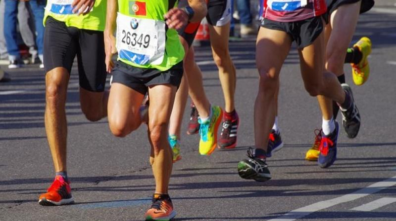 The runners are motivated by a feeling of total freedom, a place where they can fully immerse themselves. (Photo: ANI)