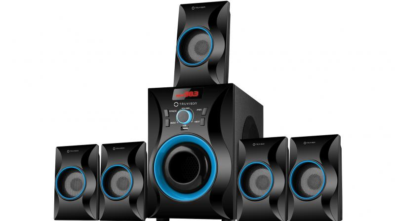 The Truvison TV-5025BT multimedia speakers are available for Rs 5,490.
