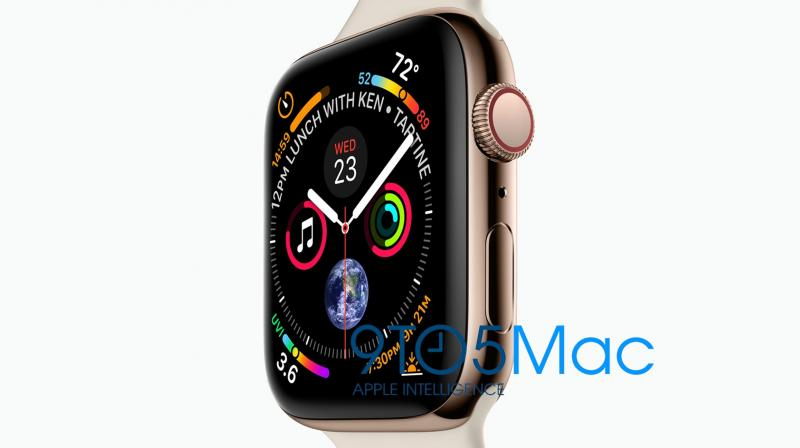 The biggest change that will feature on the Apple Watch Series 4 is that it will have 15 per cent larger displays for both sizes.
