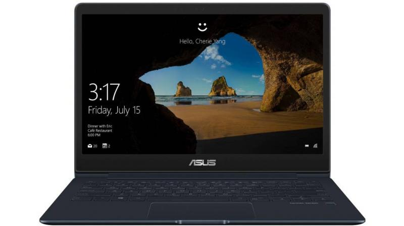 The ZenBook 13 is built in an all-metal chassis with a unibody construction that weighs just 985g and is 13.9mm thick.