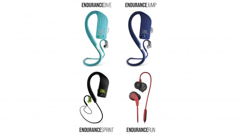 JBL states that these earphones combine durability with ultimate comfort and convenience as they are tailored to every type of athlete.