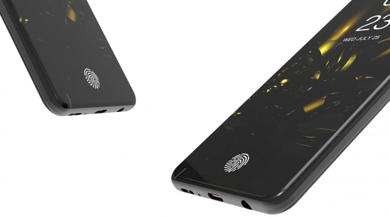 The next Samsung flagship will have an ultrasonic in-display fingerprint scanner. (Photo: dbsdesigning)