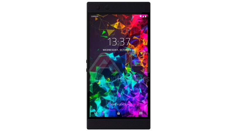 There are subtle differences between the first Razer Phone and Razer Phone 2