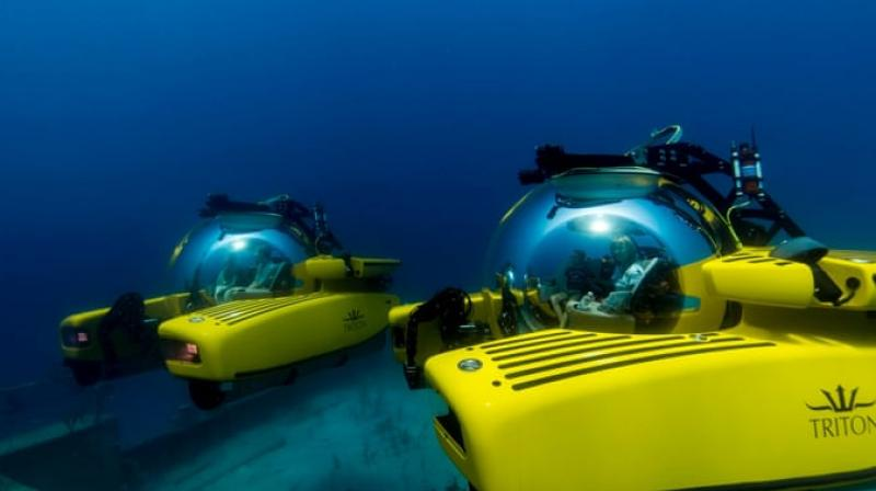 , Triton Submarines LLC of Vero Beach, Florida, said on the company website that it is the only submersible certified to carry humans on dives of 36,000 feet.