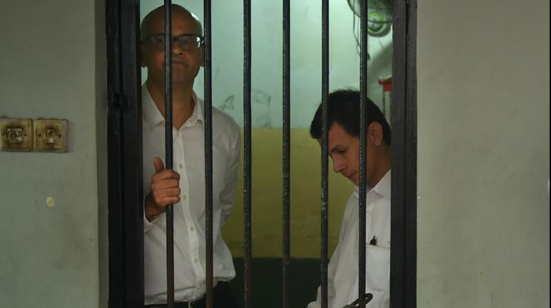The two were originally sentenced to 10 years in jail but were acquitted in August 2015, after nearly a year behind bars, and released. (Photo: AFP)