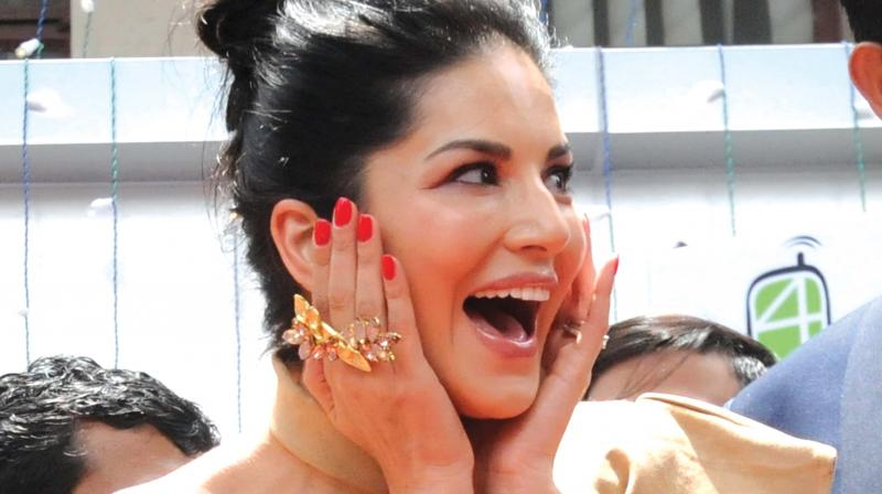 Sunny Leone. (Photo: ARUN CHANDRABOSE)