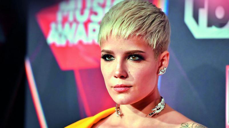 Halsey gives empowering speech