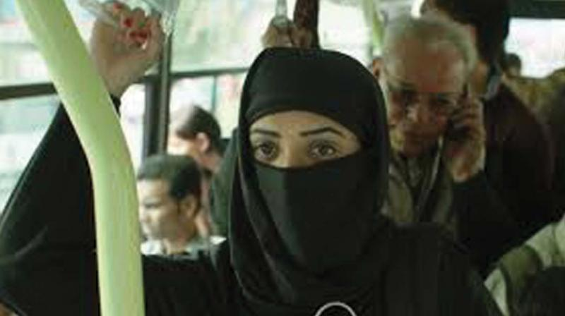 A scene from the film Lipstick Under My Burkha