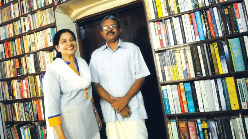 Khyrunnisa. A and P. Vijaya Kumar  (Photo: A.V. MUZAFAR)