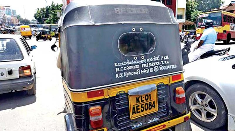 Auto Rickshaw Group Expands Charity 'drive' In