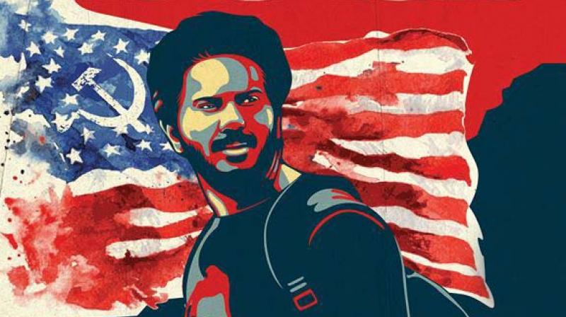 Comrade in America movie poster