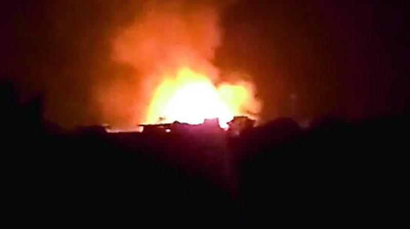 Image result for cherlapally fire accident