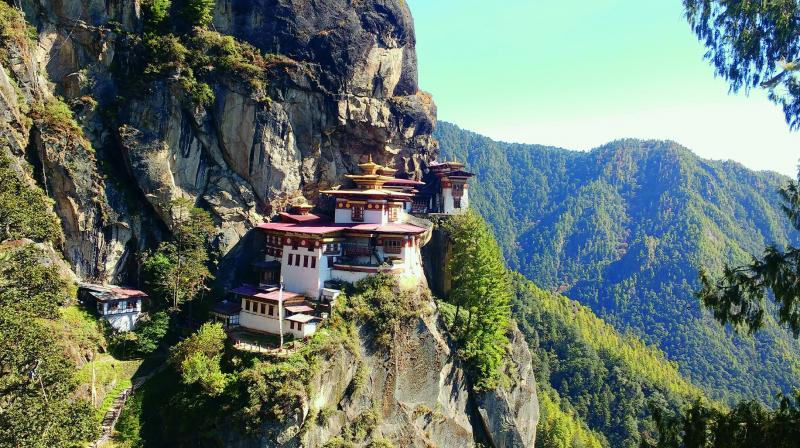 Taktsang Monastery (All photos by Dylan D'Silva and Brinston Carvalho)