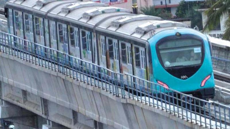 Works on two corridors picks up pace — Hyderabad Metro