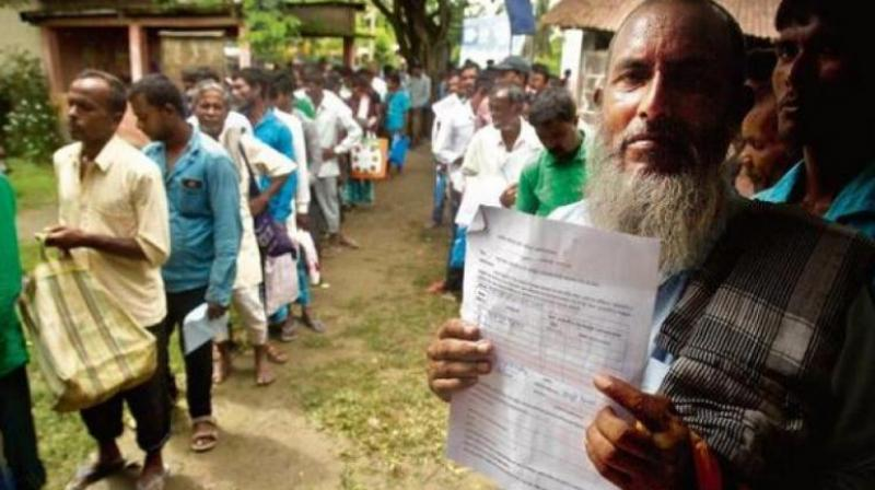 "The USCIRF in Issue Brief: India released on Friday said the NRC ""as a tool to target religious minorities and, in particular, to render Indian Muslims stateless has become one more example of the downward trend in religious freedom conditions within India."" (Photo: File 