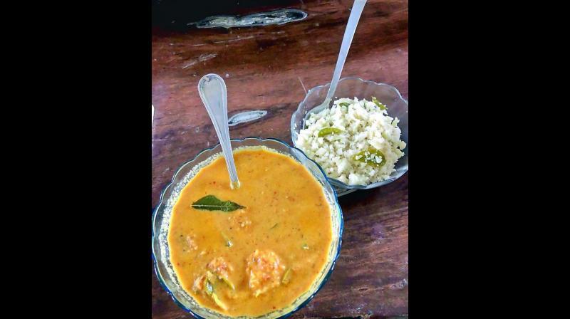 Spicy Goan Prawn Curry