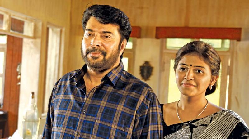 Mammootty and Anjali in Peranbu
