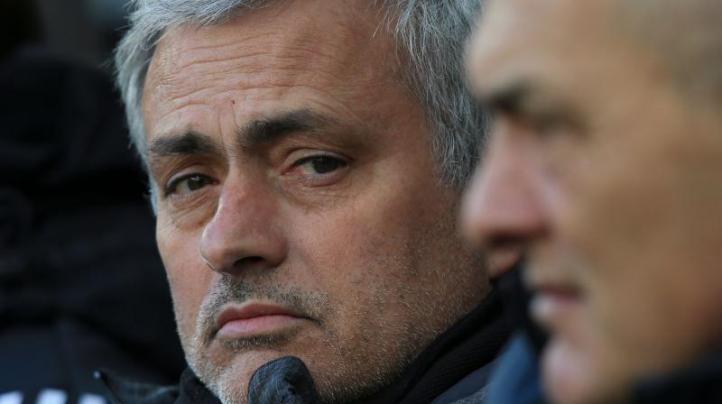 Jose Mourinho's second placed side, beaten by Tottenham in their last away game, were rarely at their best at St James' Park. (Photo: AFP)