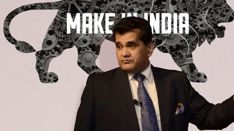 Niti Aayog CEO Amitabh Kant said one of the things which Prime Minister Narendra Modi has been focusing on in recent times is the target of becoming a USD 5 trillion economy by 2024 and subsequently a USD 10 trillion economy by 2030. (Photo: File)