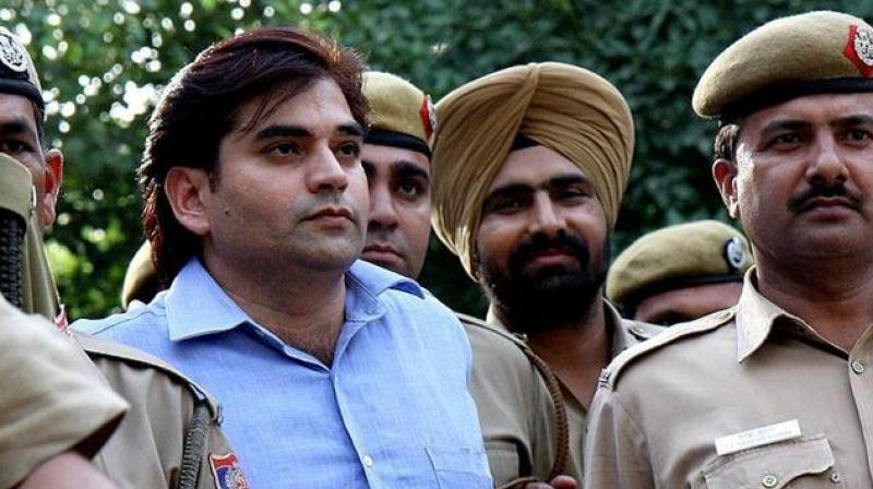 The Supreme Court on Monday dismissed the parole plea of Vikas Yadav, who is serving a 25-year jail term for killing business executive Nitish Katara in 2002. (Photo: social media)