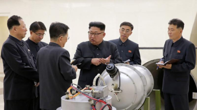 North Korea announced that it has successfully conducted a test of a hydrogen bomb that is meant to be loaded into an intercontinental ballistic missile. (Photo: AFP)