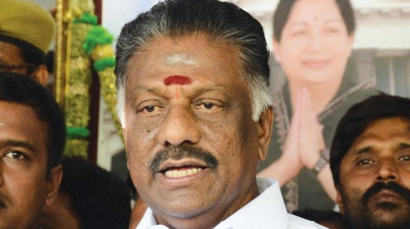 (AIADMK) leader and former Tamil Nadu chief minister O Panneerselvam (Photo: File)