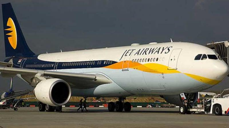 "Jet Airways on Friday described reports that the airline cannot fly beyond 60 days as ""incorrect and malicious"" as well as denied any talks of a stake sale. (Photo: PTI)"