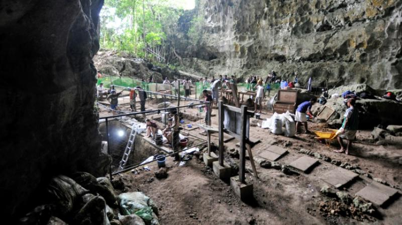 Homo luzonensis, discovered in the French island of Luzon, is not a direct ancestor of modern day humans, but rather a distant ancient relative. (Photo: AFP)